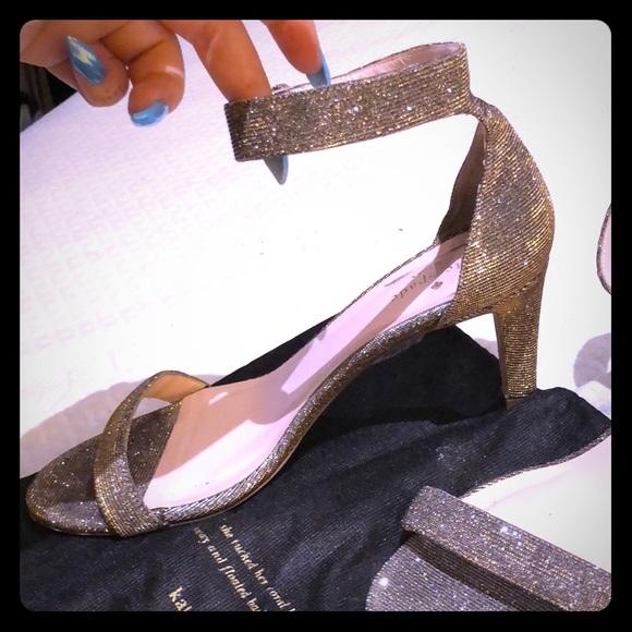 2ff14c045693 kate spade Shoes - Kate Spade sparkle open-toe heels women s size 9.5